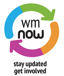 WM Now logo