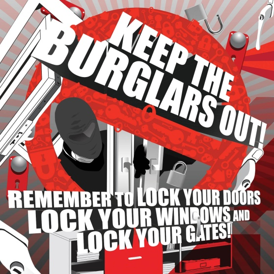Keep the Burglars Out Campaign