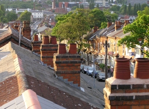 Roof top image in Selly Oak