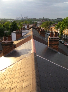 View across the rooftops in Selly Oak